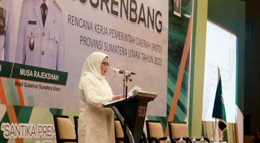 Pertumbuhan Ekonomi Sumut Ditarget 5,4 Persen di Musrenbang RKPD 2020