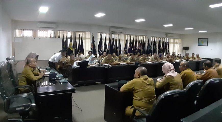 BPBD Sumut Gelar Rapat Internal Bahas Persiapan Menyambut Hari Raya Idul Fitri 1440 H
