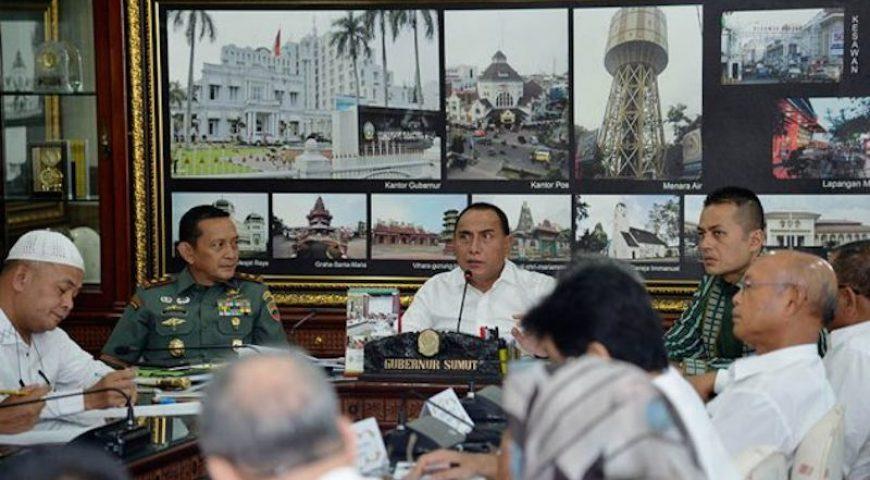 Gubernur Sumut: Grand Design Penanganan Banjir Kota Medan Harus Segera Diselesaikan