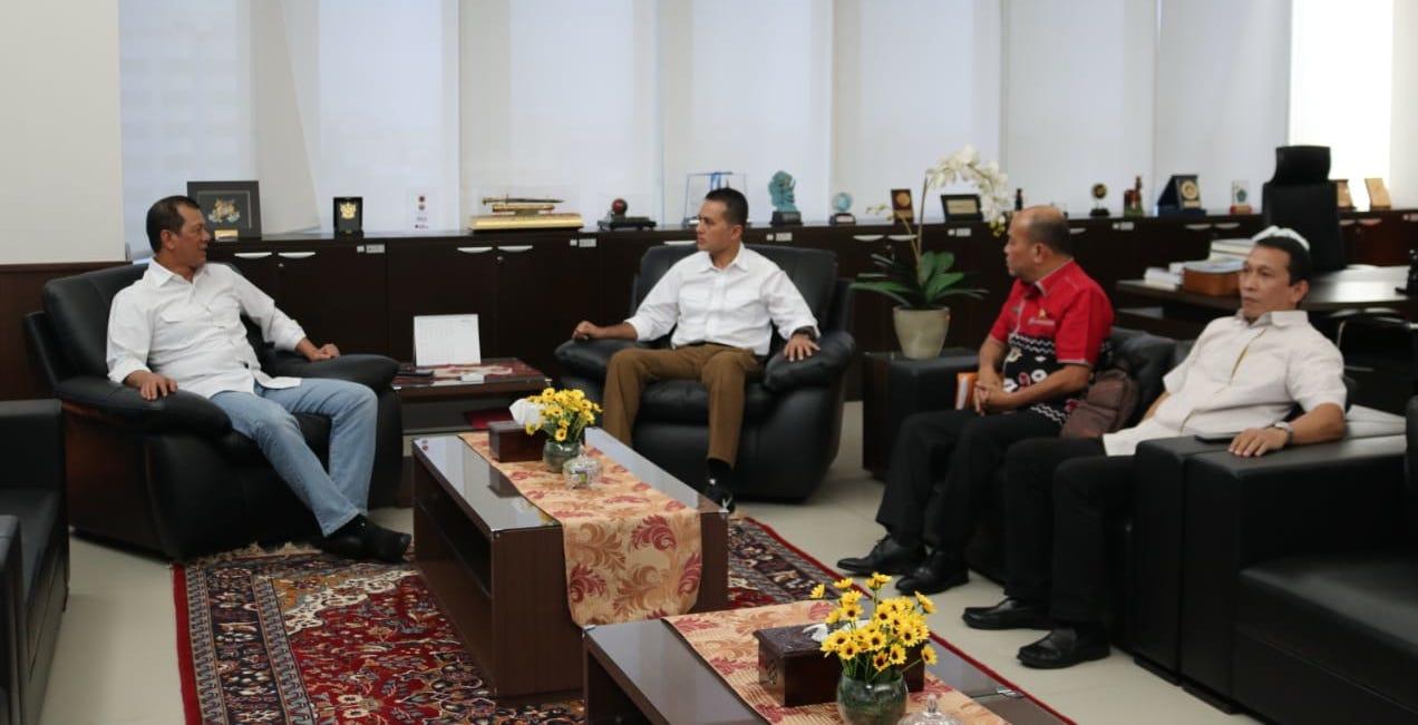 Wagubsu dan Kepala BNPB Bertemu Bahas Sinabung Hingga Banjir Kota Medan
