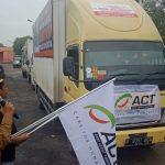 BPBD Provsu dan ACT Kirim Bantuan 12 Ton untuk Korban Terdampak Asap di Riau