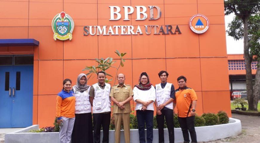 BPBD Provsu Jalin Kerjasama dengan TBM FK USU di Bidang PPGD