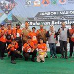 Jambore Nasional Relawan PB  2019 Ditutup, Sejumlah Prestasi Ditorehkan BPBD Provsu