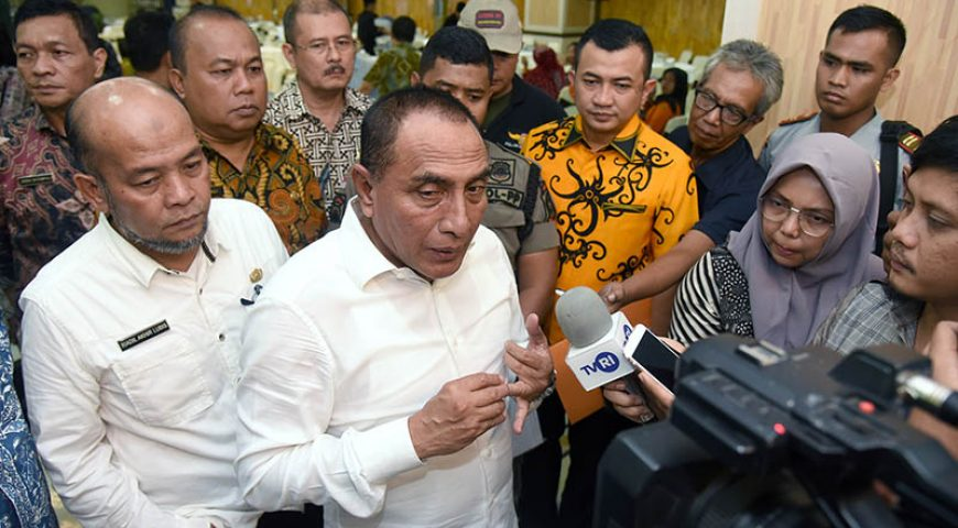 Gubsu Galang Dana Rp2,1 Miliar untuk Warga asal Sumut di Wamena