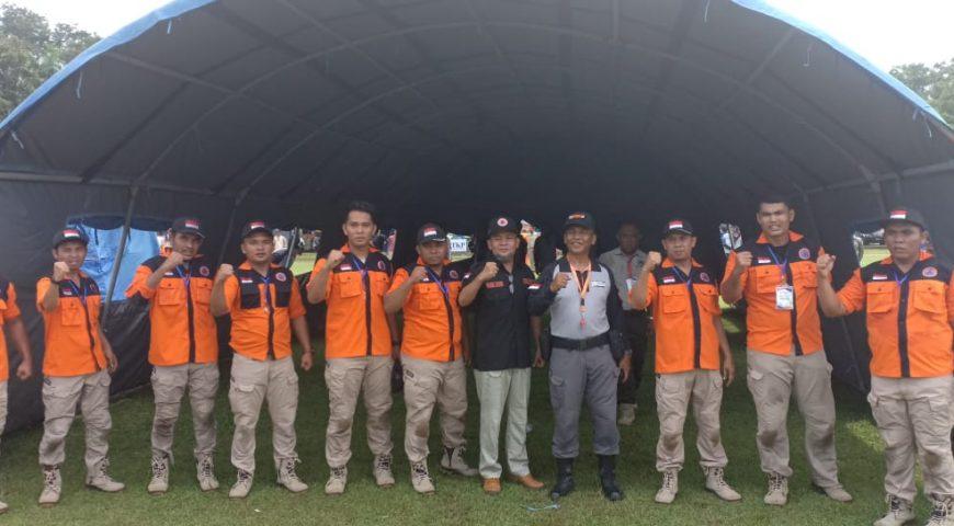 Sejumlah Lomba Digelar di Hari Ke-3 Jambore Kesiapsiagaan Bencana Daerah Provinsi Sumut