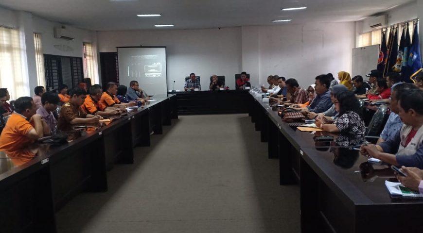 BPBD Gelar Rapat Persiapan Jambore Kesiapsiagaan Bencana Daerah Provinsi Sumut