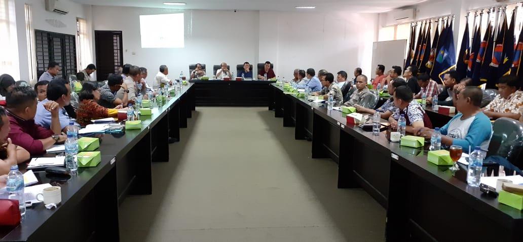 Tim URC Penanganan Virus Hog Cholera Babi Gelar Rapat Evaluasi di Kantor BPBD Provsu