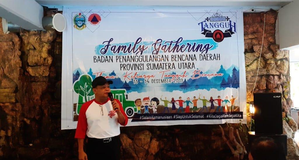 Jelang Tutup Tahun, BPBD Provsu Gelar Family Gathering di Berastagi