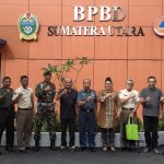 Utusan dari Mabes TNI Kunjungi Kantor BPBD Provsu