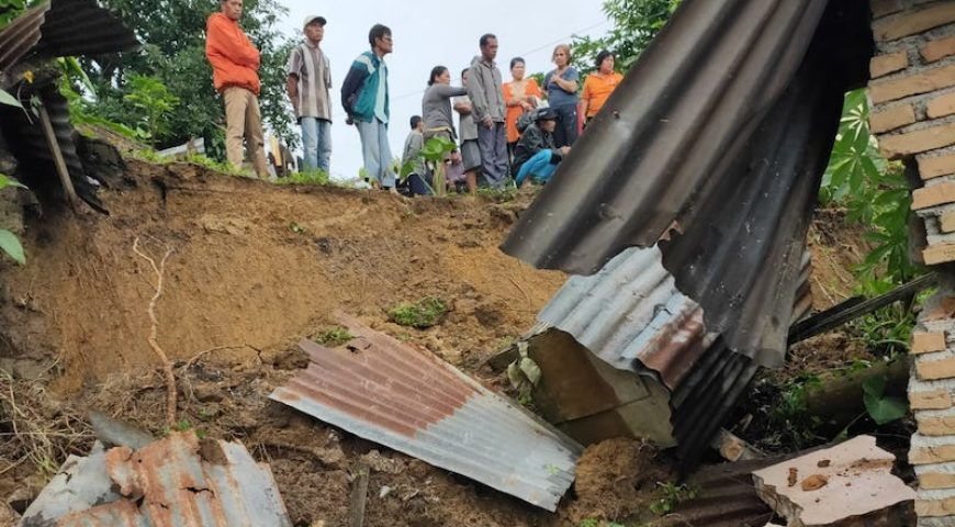 Dampak Bencana Tanah Longsor di Kabupaten Tapanuli Utara 31 Januari 2020
