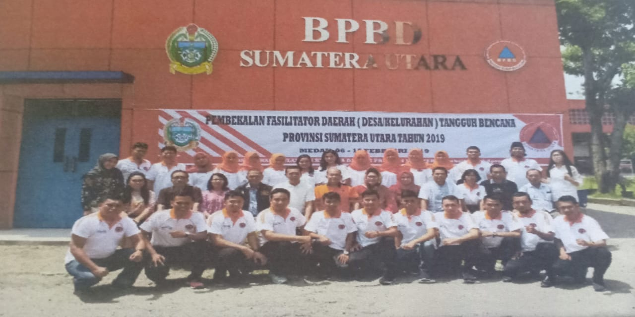 BPBD Provsu Wujudkan Program Membangun Desa Menata Kota Melalui Pemberdayaan Desa/Kelurahan Tangguh Bencana (Destana/Keltana)