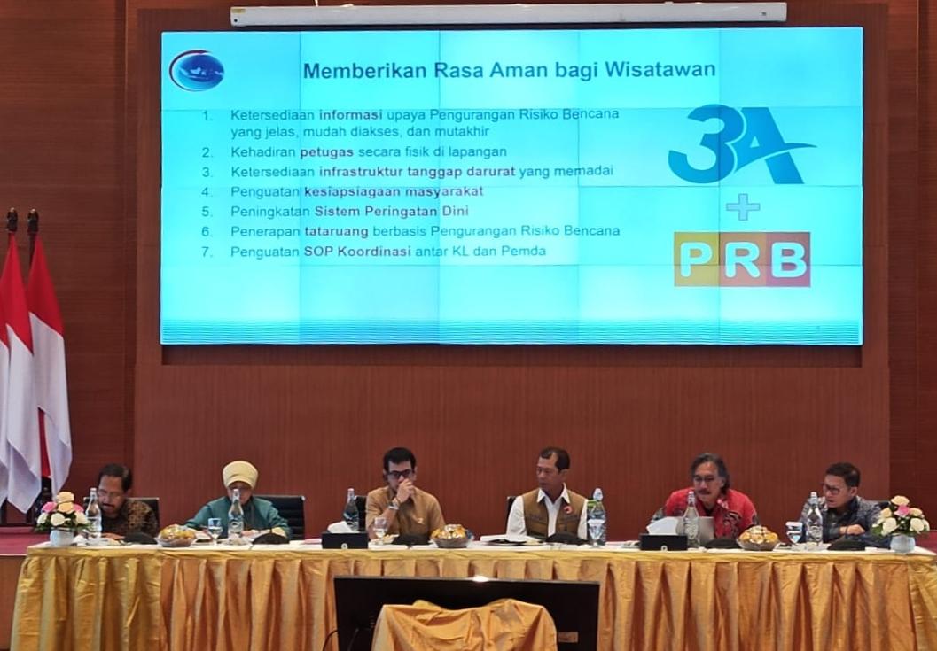 Pemprovsu Siap Dukung Danau Toba Sebagai Destinasi Wisata Super Prioritas yang Aman Bencana