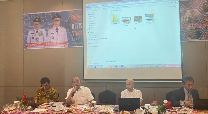 BPBD Provsu Gelar FGD Tentang Rencana Revisi Perda Penanggulangan Bencana Daerah