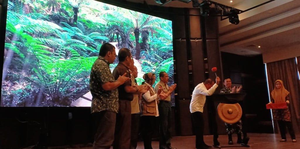 Gubsu Buka Kegiatan Rakorda Penanggulangan Bencana Provinsi Sumatera Utara 2020