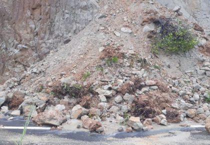 Informasi Tanah Longsor di Kabupaten Paluta 30 Januari 2020