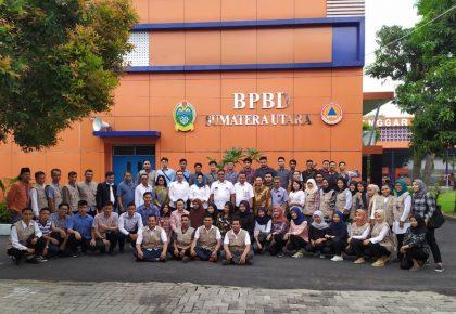 BPBD Provsu Lepas Mahasiswa Polmed Magang ke Sejumlah Destana