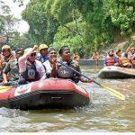 TIM Susur Sungai Berhasil Angkat 25 Ton Sampah dari Sungai Deli