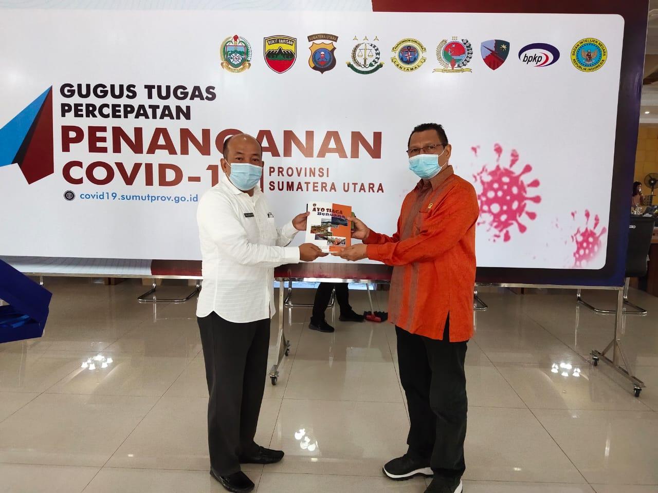 Anggota DPR RI Komisi VIII Gelar Kunjungan Kerja Perorangan ke BPBD Provsu