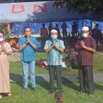 Idul Adha di Masa Pandemi, BPBD Provsu Gelar Pemotongan Hewan dan Berbagi Daging Kurban