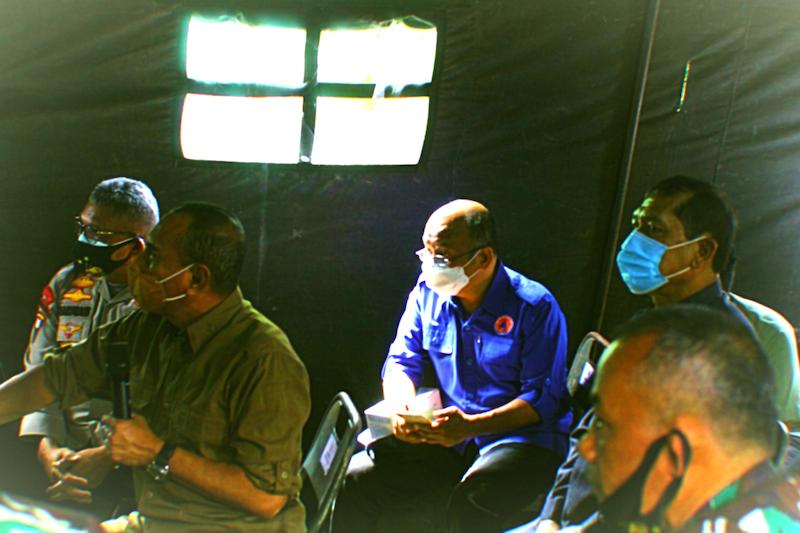 Edy Rahmayadi Minta Forkopimda Bersatu Padu Rumuskan Perbaikan Lahan Terdampak Erupsi Sinabung