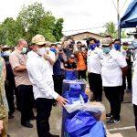 Gubernur Sumut Serahkan Bantuan untuk Korban Angin Puting Beliung di Deli Serdang