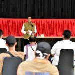 Gubernur Resmikan Pos Gabungan Pencegahan Covid-19 Sumut