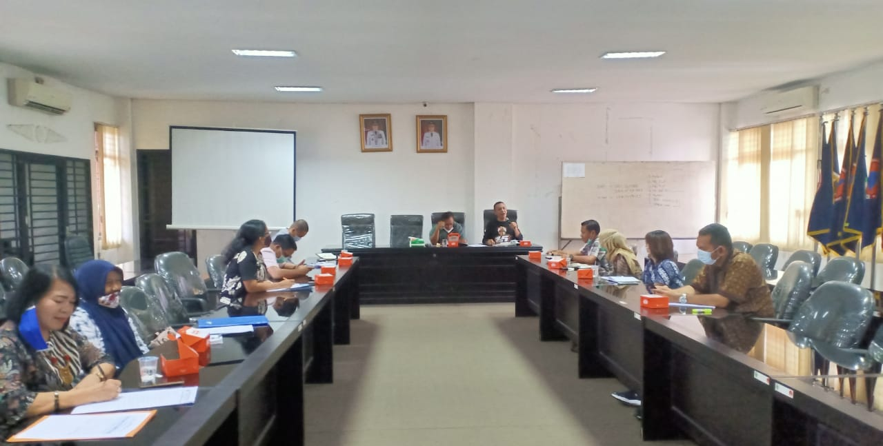 BPBD Provsu Sosialisasikan Aplikasi InaRisk ke Komisi C DPRD Tapteng