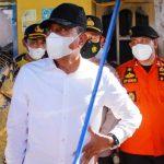 Gubernur Edy Rahmayadi Kunjungi Lokasi Kebakaran Rumah di Kabupaten Langkat