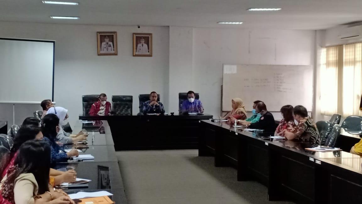 Perkenalan Diri Sebagai Pejabat Baru, Sekretaris BPBD Sumut Pimpin Rapat Perdana
