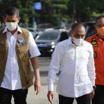 Kepala BNPB Doni Monardo Berkunjung ke Medan untuk Meninjau Penanganan Covid-19