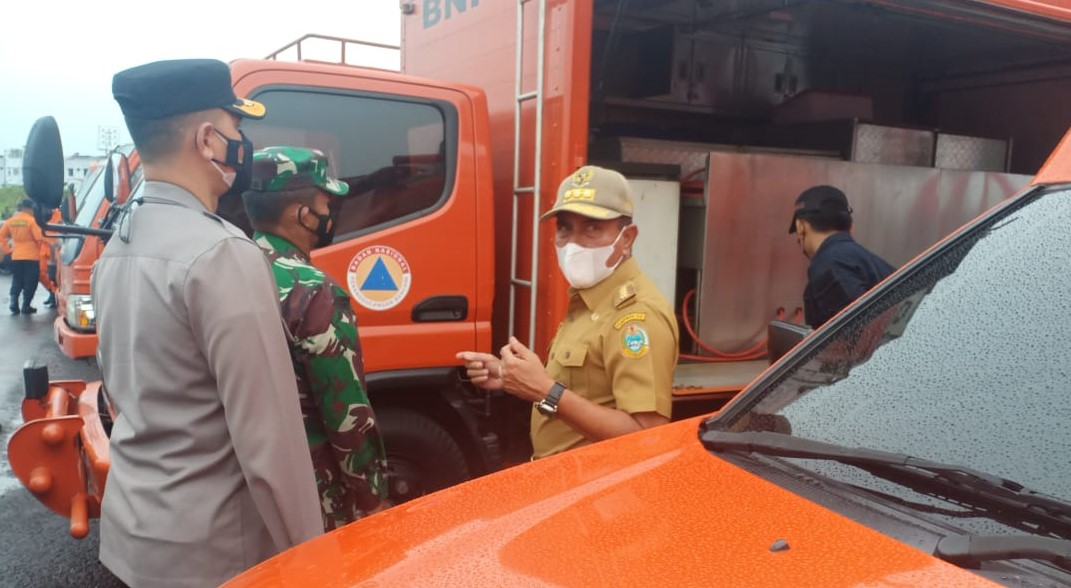 Gubernur Pimpin Apel Kesiapsiagaan Bencana Provinsi Sumut Tahun 2021
